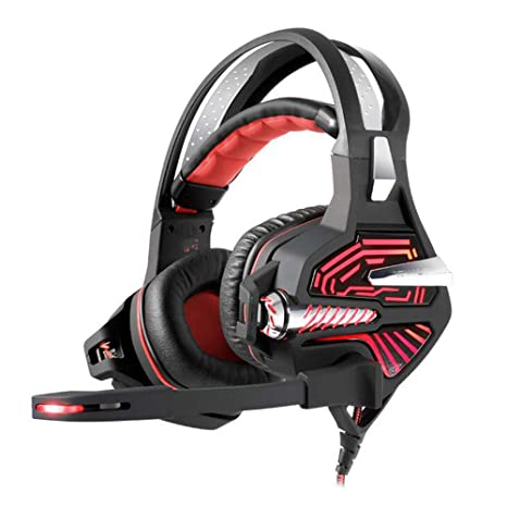 Auriculares Gaming Headset Headset E-Sports 7.1 Tarjeta de ...