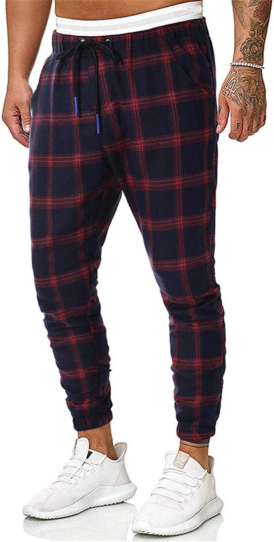 Nsdetyws Pantalones Cargo de Moda para Hombre, Casual ...
