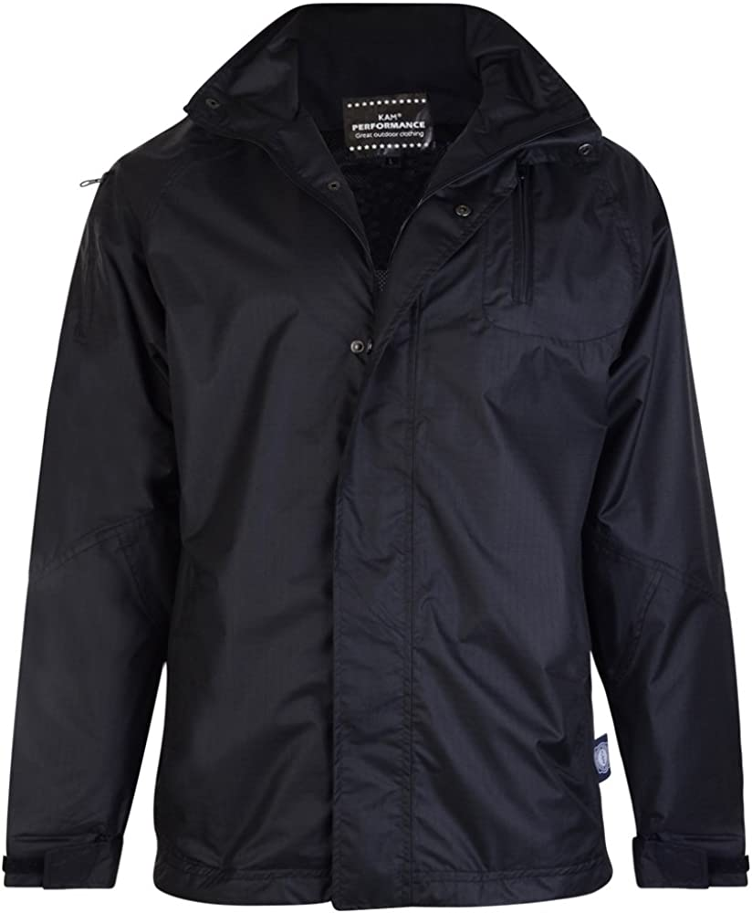 LT to 4XLT Windproof and Breathable Coat 2XL to 8XL Kam Waterproof