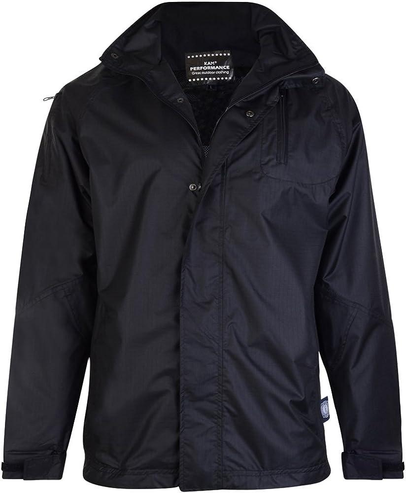 B01N8ZRH0H Kam Jeanswear Mens Tall Fit Waterproof Rain Coat 61F%2B-wKL0cL