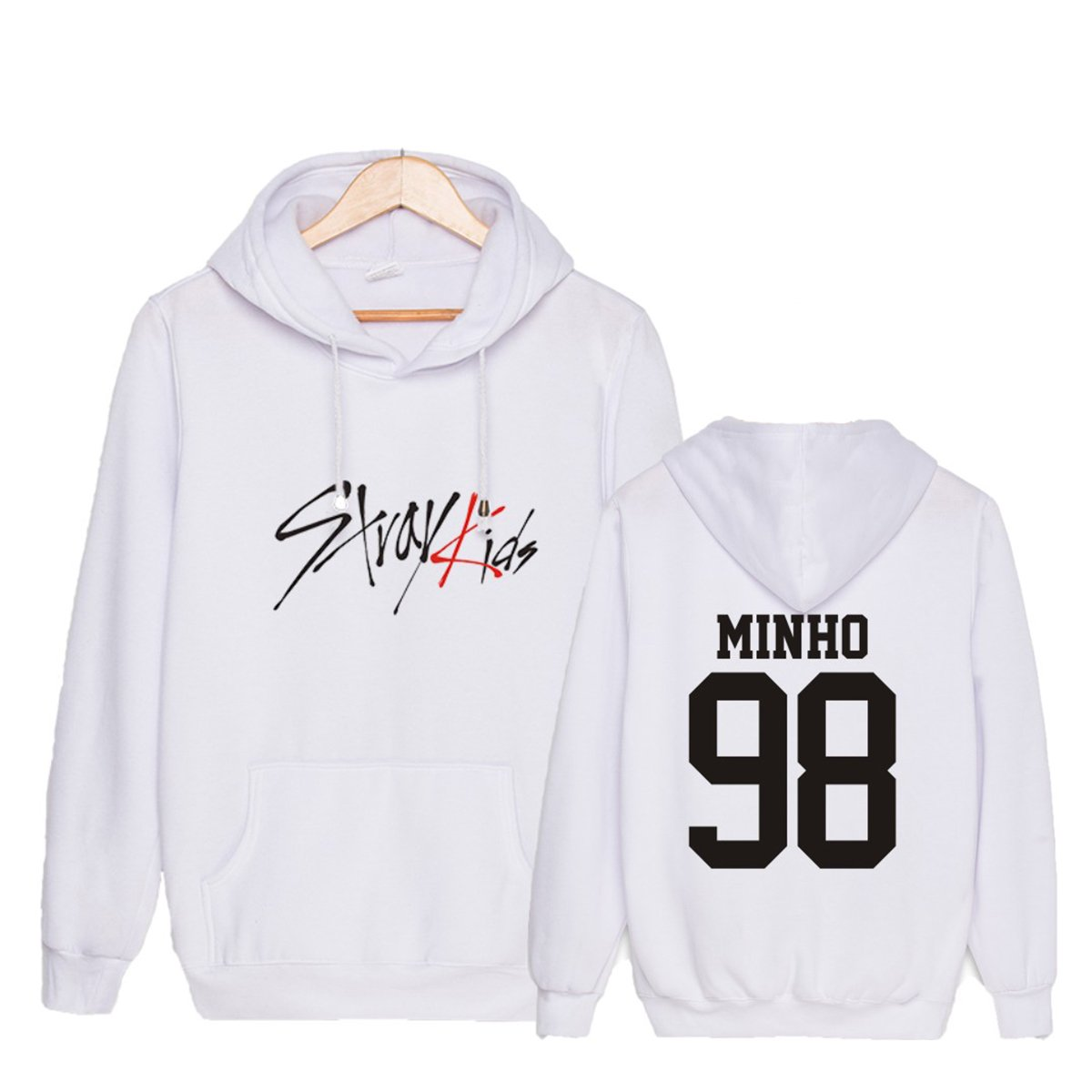 CHAIRAY Kpop Stray Kids Hoodie Sweatshirt ChangBin HyunJin Woojin Sweater