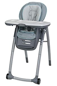 Graco Table2Table Premier Fold 7 in 1 Convertible High Chair | Converts to Dining Booster Seat, Kids Table and More, Layne