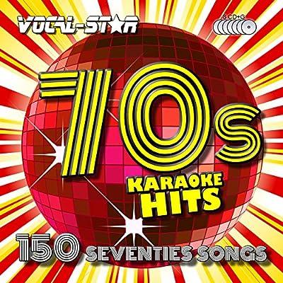 Vocal-Star 70s Karaoke CD CDG Disc Pack 8 Discs CDs 150 Songs: Vocal-Star Karaoke: Amazon.es: Música