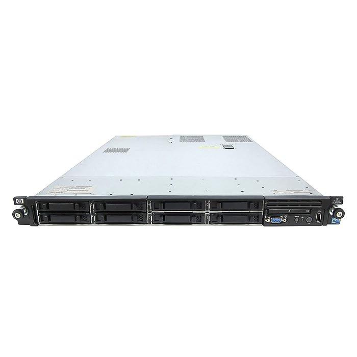 HP ProLiant DL360 G7 1U RackMount 64-bit Server with 2xSix-Core X5650 Xeon 2.66GHz CPUs + 32GB PC3-10600R RAM + 8x146GB 10K SAS SFF HDD, P410i RAID, 4xGigaBit NIC, 2xPower Supplies, NO OS (Renewed)