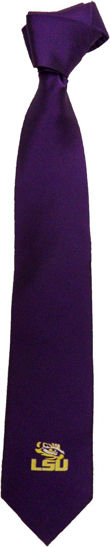 NCAA LSU Tigers Solid Primary Necktie One Size Purple