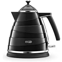 De'Longhi Avvolta, Electric Kettle 1.7L, KBA2001BK, Black