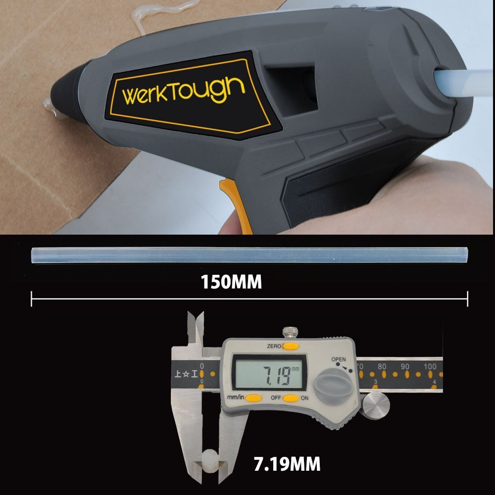 Uniteco 3.6V Cordless Glue Gun DIY Talent HG03 Super Fast Heating Only 15 Seconds 1300MA Lion Battery (3.6V Cordless Glue Gun)