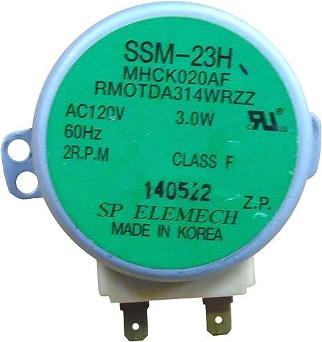 Amazon.com: Sharp OEM rmotda222wre0 Motor: Electronics