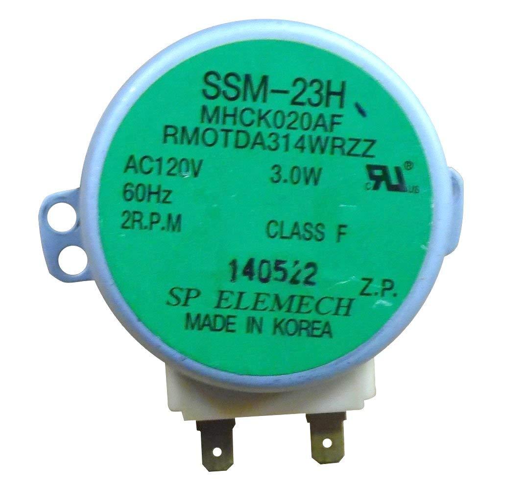 Inc Sharp RMOTDA314WRZZ Microwave Turntable Motor Genuine Original Equipment Manufacturer (OEM) part