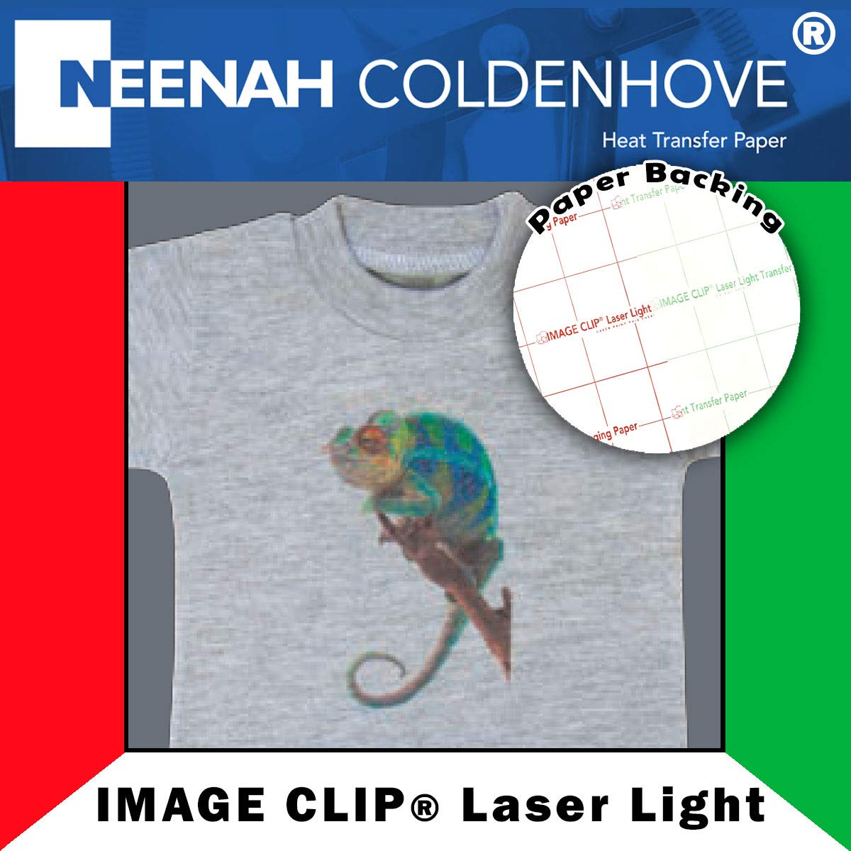 Neenah IMAGE CLIP for Laser Light, 11'' x 17'', 10 Sheet Pack