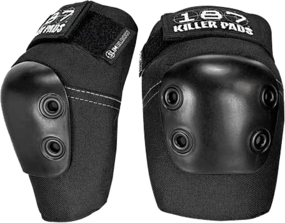 187 Slim Black Medium Elbow Pads BHBM523W220