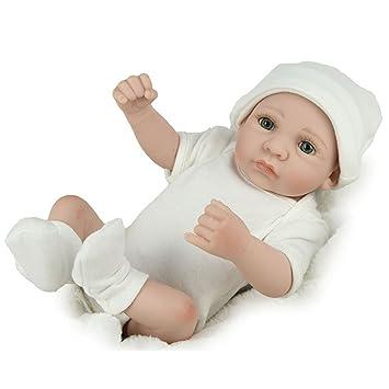30cm realistische weiche Vinyl Reborn Baby Girl Doll Kinder schlafen Babypuppen & Zubehör