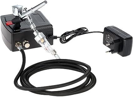 KKmoon 100-240V Aerógrafo Compresor Profesional Juego de compresor ...