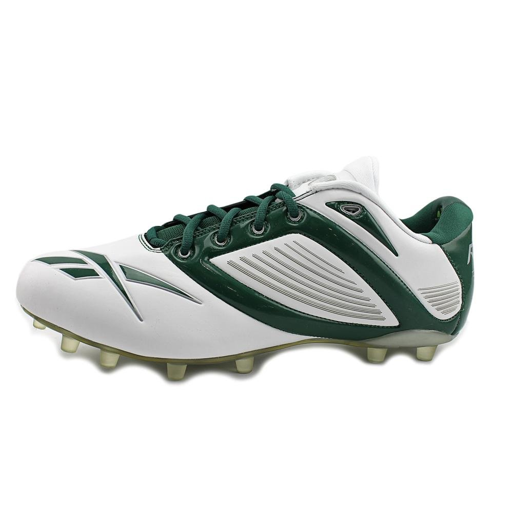 Reebok Pro All Out Speed Low M2 Mens Football Cleats White /& Green 12