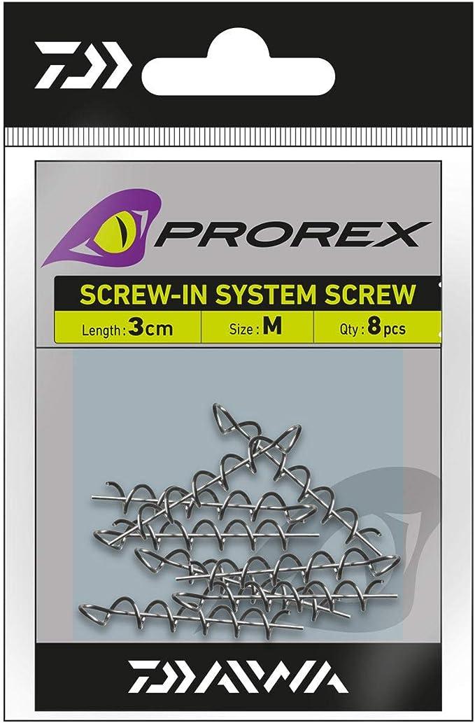 Daiwa Angeln Gummifische Systeme Prorex Screw-In Schraubspirale