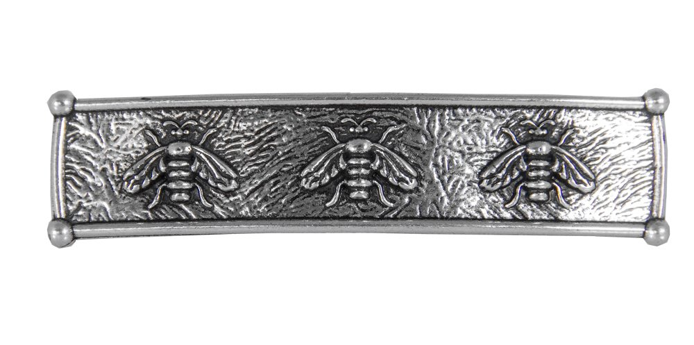 Honey Bee Hair Clip - Hand Crafted Metal Barrette Made in the USA with imported French Clips By Oberon Design …