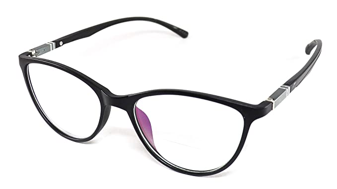 d9c4714a6e0 Image Unavailable. Image not available for. Colour  Justkartit Black Color  Cat Eye Shape Women Full Rim Spectacle Frame (Medium Size ...
