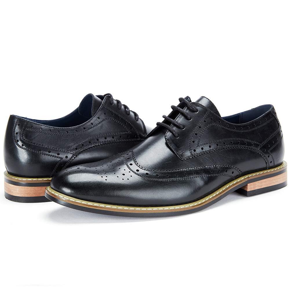 e06cb75919958 Amazon.com | Cestfini Leather Wingtip Dress Shoes for Men Business ...