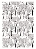 """Japanese Noren Doorway Curtain Tapestry with Closeup Blossom 33.5"""" Width x 47.2"""" Long (Forest Park)"""