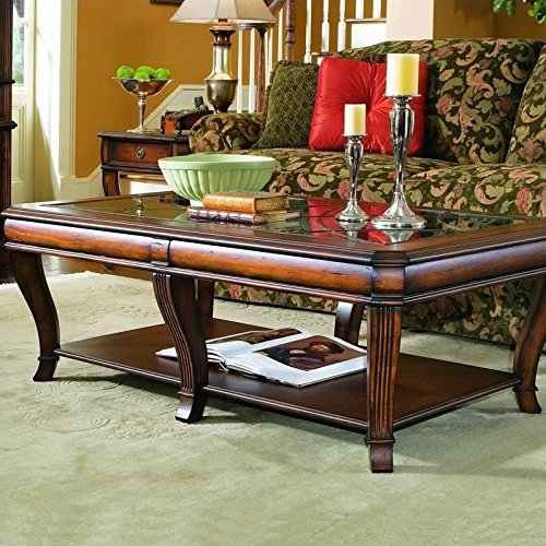 Hooker Furniture Brookhaven Rectangular Cocktail Table in Cl
