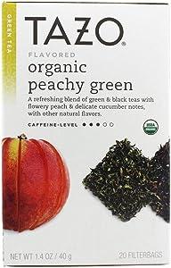 Peachy Green Tea Organic Tazo Teas 20 Bag