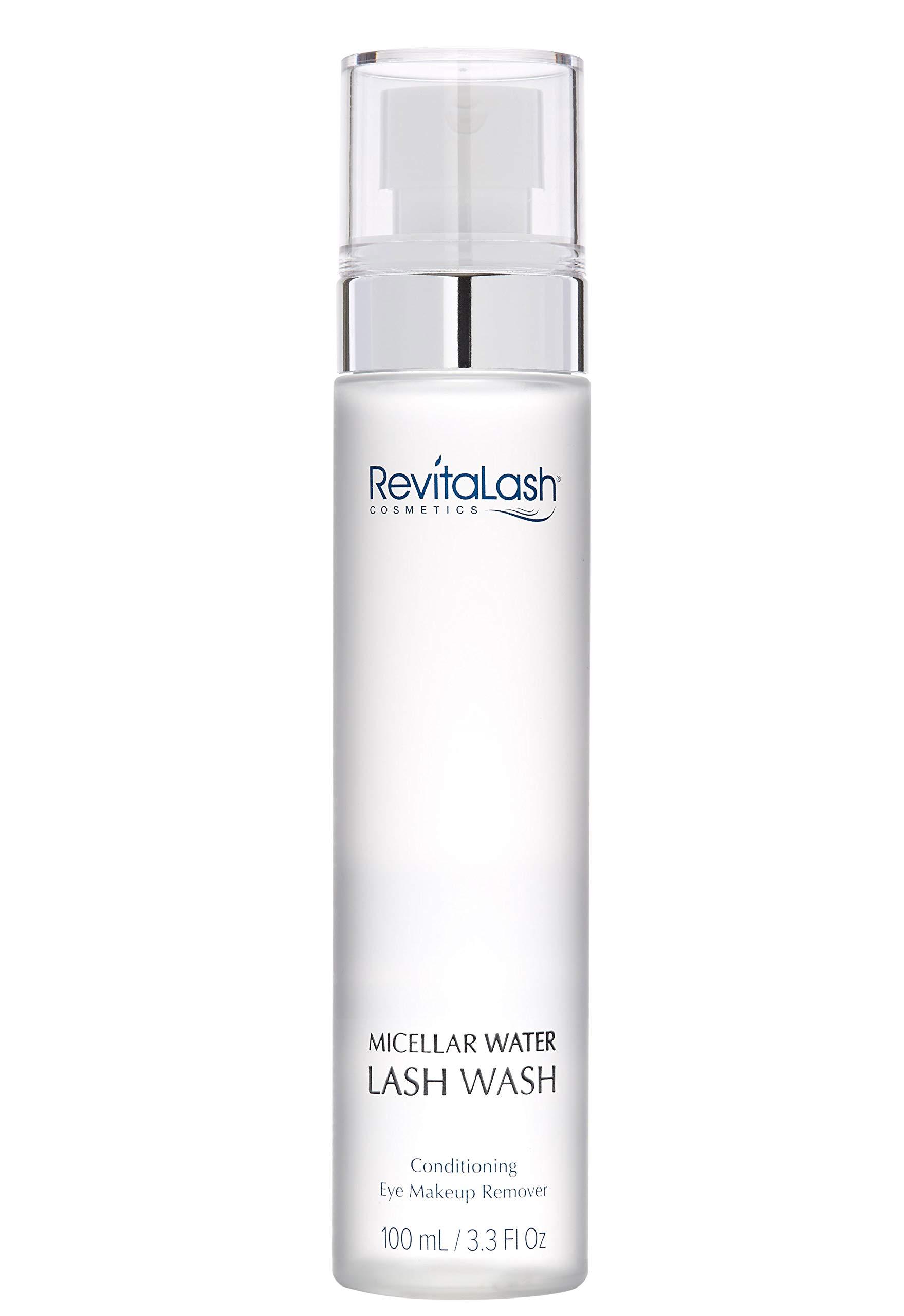 RevitaLash Cosmetics, Micellar Water Lash Wash - Conditioning Eye Makeup Remover, Hypoallergenic & Cruelty Free by RevitaLash Cosmetics