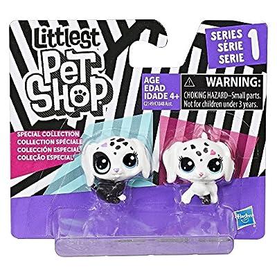 Littlest Pet Shop Black & White Puppy BFFs by Hasbro