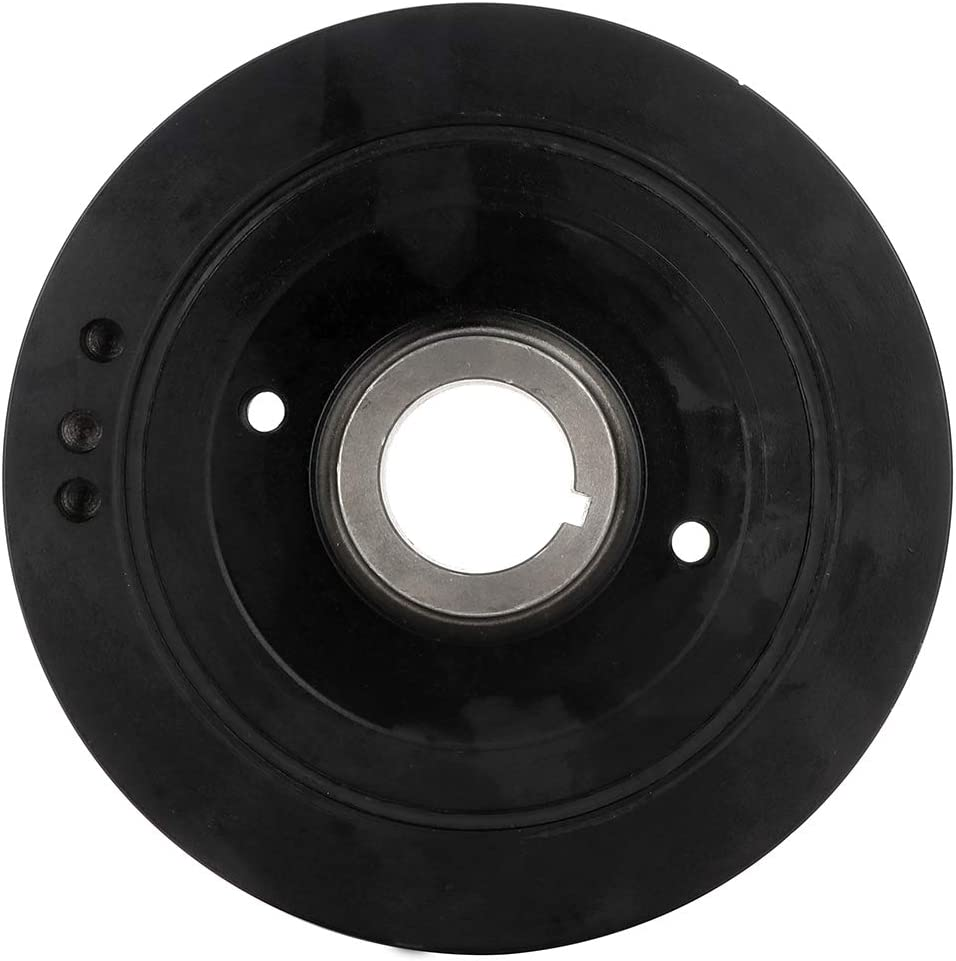 ROADFAR Crankshaft Pulley Compatible for 1996-2002 Toyota 4Runner 1995-1998 Toyota T100 1995-2004 Toyota Tacoma 2000-2004 Toyota Tundra