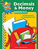 Decimals and Money, Grades 3-4, Teacher Created Resources Staff, 0743933265
