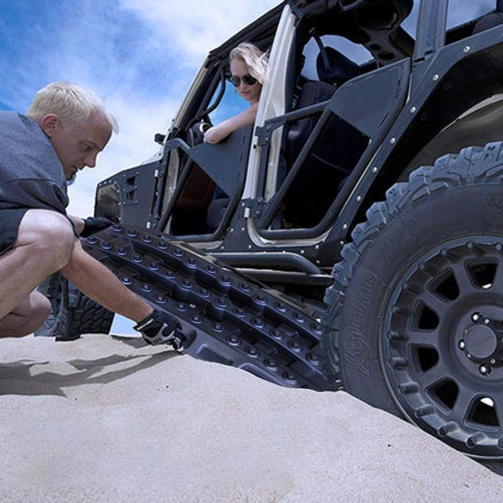 Dynamicoz Off-Road-Vorstand Sand Brett Rettungsausr/üstung Selbstrettung Anti-Skip-Auto-Rettung und Rettungsausr/üstung f/ür Sand Schlamm Schnee Schwarz Amazing