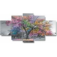 Quadros Decorativos Arvore Vida Botanico Sala Quarto Colorida