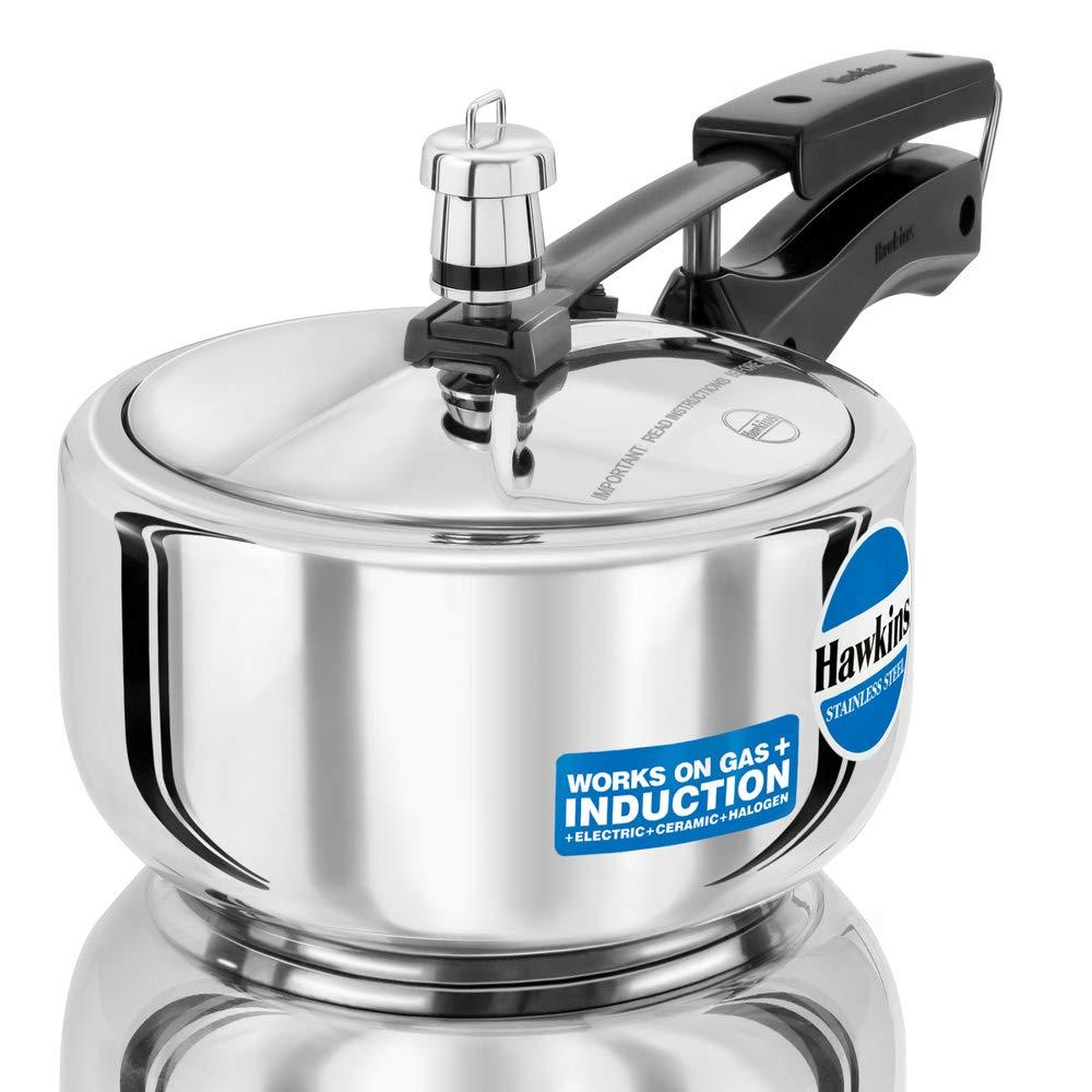 Hawkins 2 Litre Stainless Steel Cooker -(HSS20) Pressure Cooker