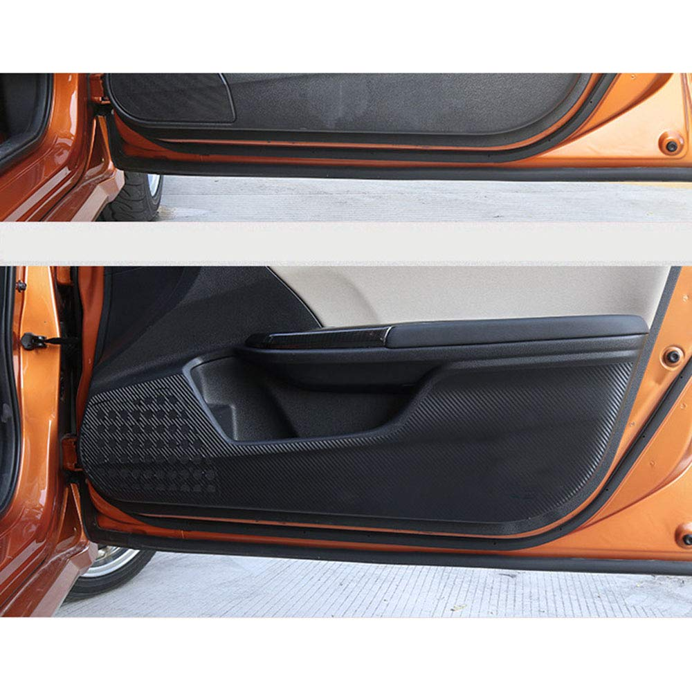 LUVCARPB Car Door Anti-Kick Pad Stickers,Fit for Honda Civic 2016-2018 10th Gen Sedan