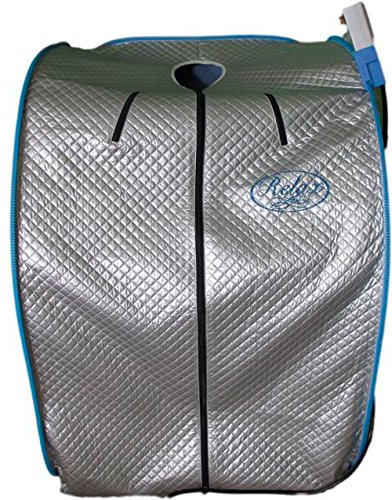 100% True Far Infrared Ray Lab Tested Radiator 750W / 1400W (Max 1500 W) Relax Portable Detox Sauna - It is neither steam nor heat pad type