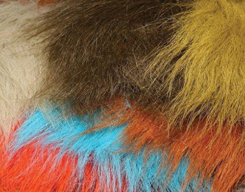 Hareline Extra Select Craft Fur Salmon Pink