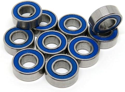 10PCS 5x11x 4mm MR115-2RS MR115RS Rubber Sealed Ball Bearing Model Miniature