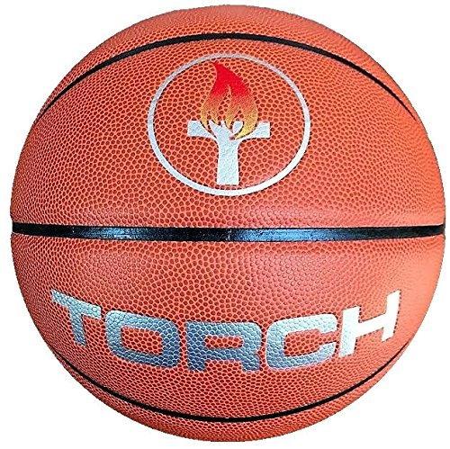 - TORCH Men's Indoor Game Basketball – 29.5″ Official Size