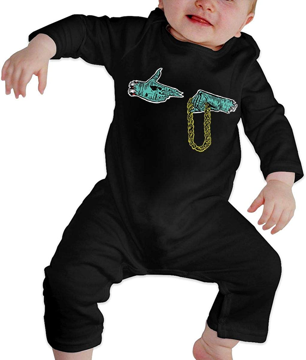Run The Jewels Cute Babys Romper Long Sleeve