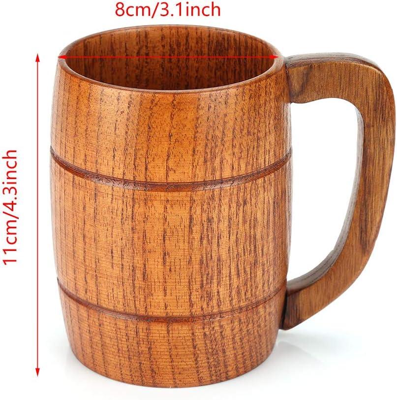 Glassware & Drinkware Natural Eco-Friendly Handmade Wooden Barrel ...