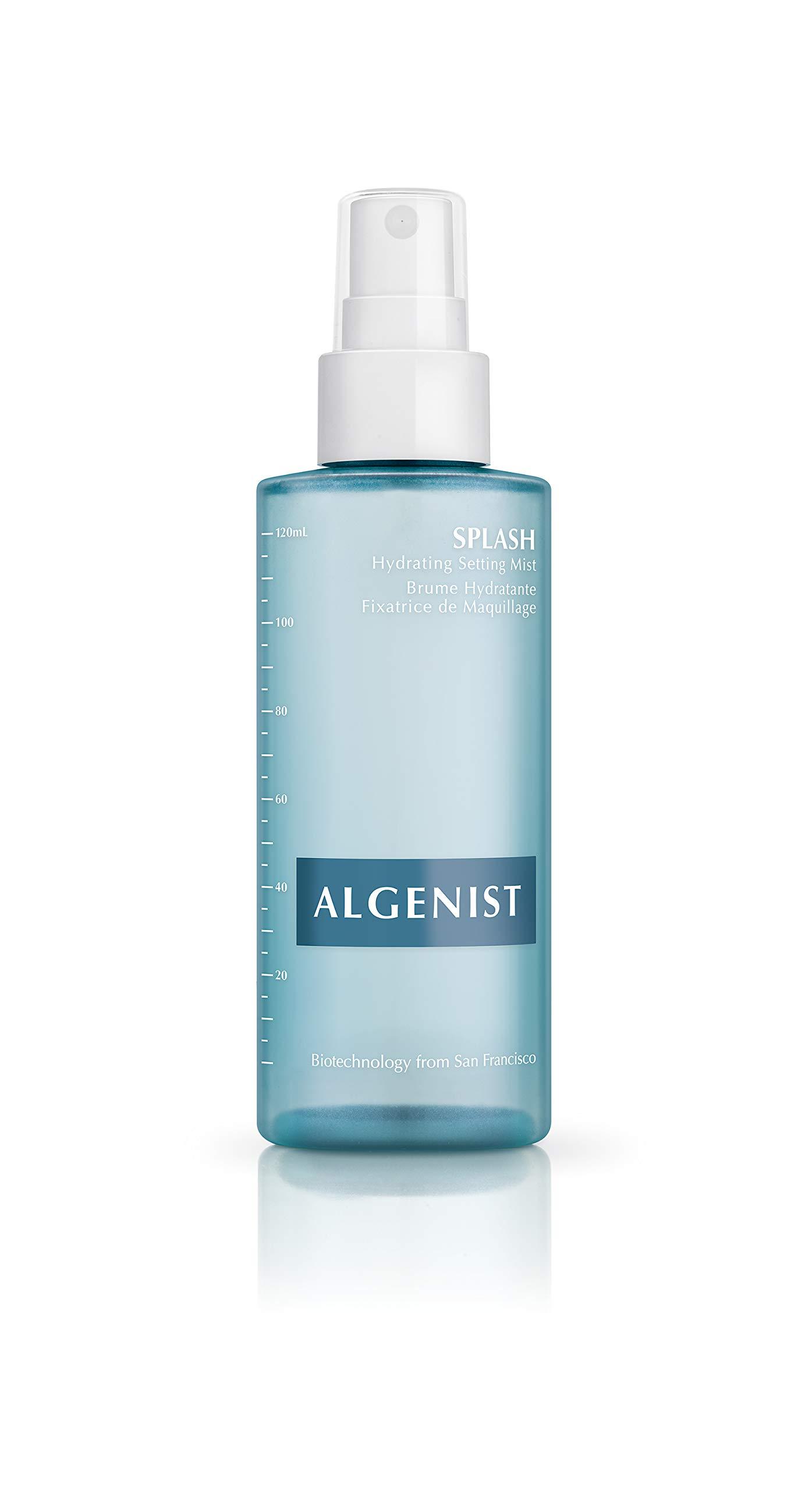 Algenist SPLASH Hydrating Setting Mist, 4 ounce