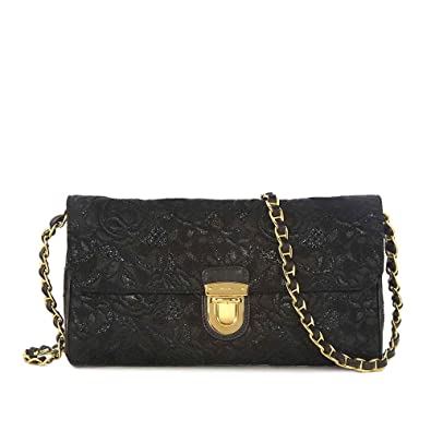 Image Unavailable. Image not available for. Color  Prada Black Shoulder Bag ce28a4f3ca8e4