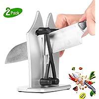 Knife Sharpener Kitchen Knife Sharpener Manual Knife Sharpeners Upgrade Whole Metal Material Best Knives Sharpeners Sharpens Hones Polishes Standard Blades Gift