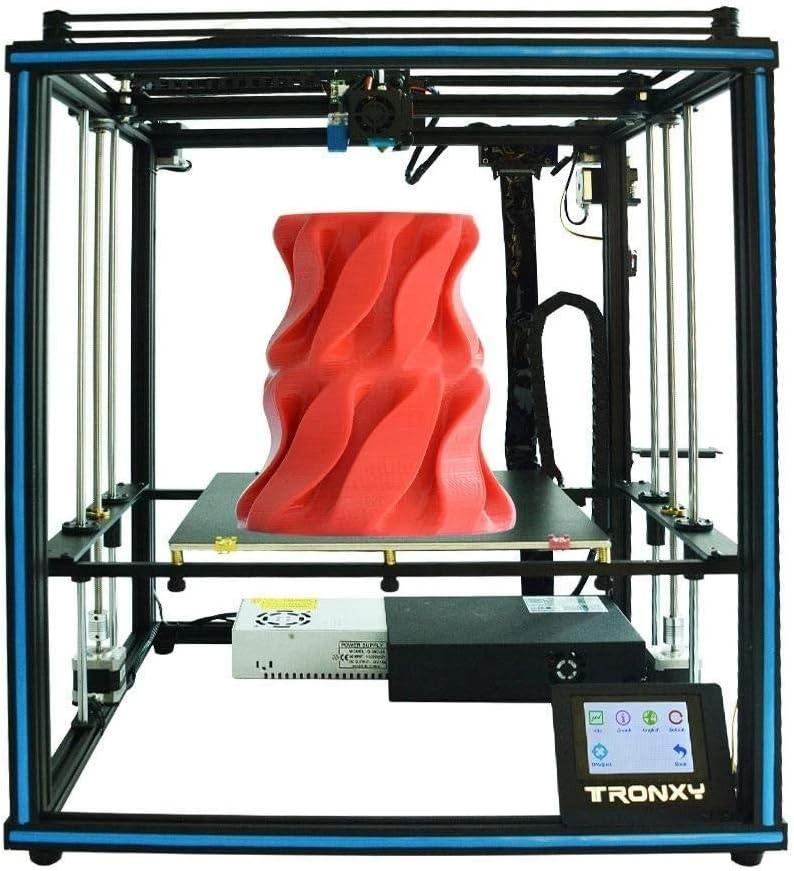 LIUXING Kit de Impresora 3D Tamaño Impresora Impresión 3D DIY de Aluminio con la Pantalla táctil Actualización/nivelación automática/Doble Eje Z/CV de Potencia (Color : Negro, tamaño : Un tamaño): Amazon.es: Hogar