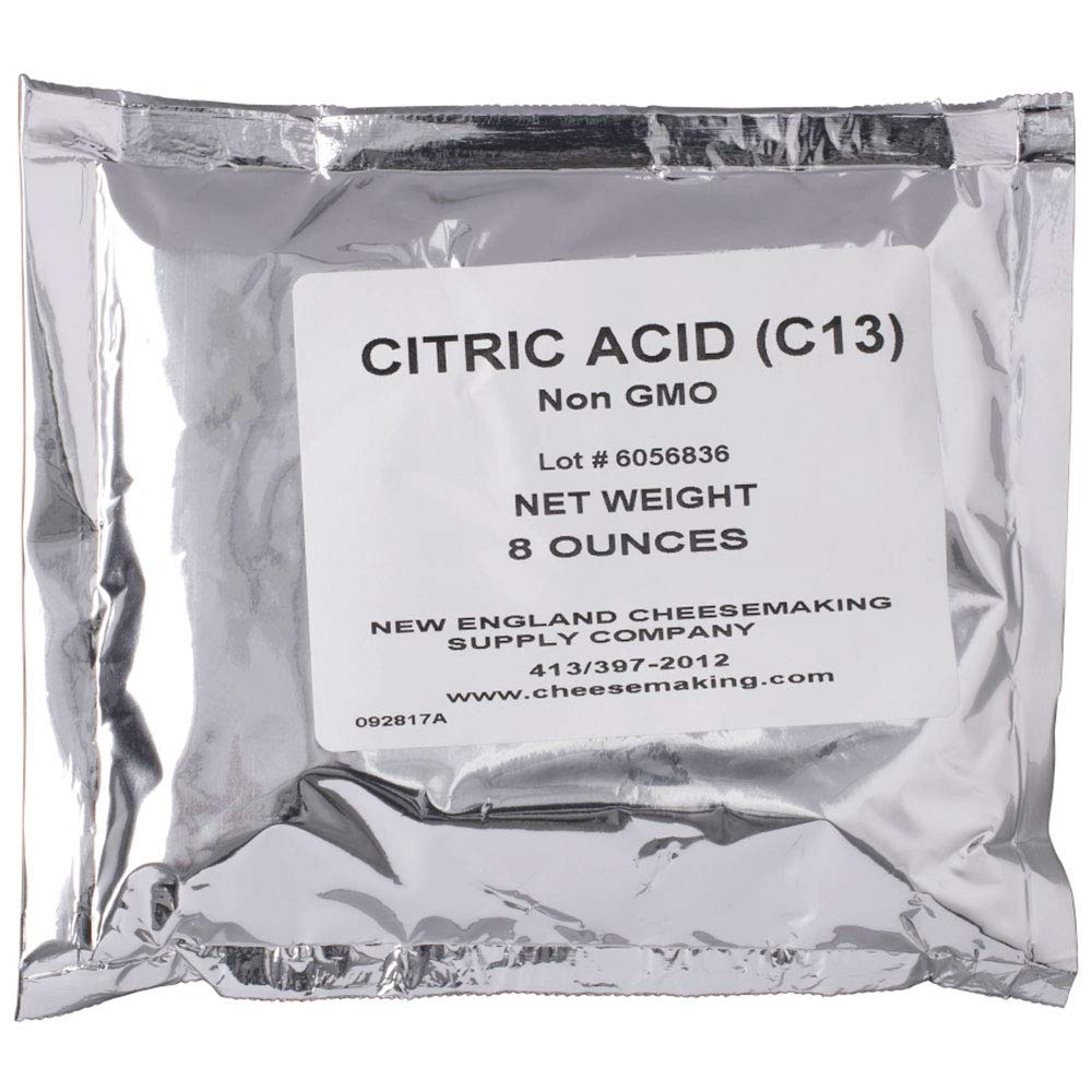 Citric Acid 8 oz - For Cheese TRTV1316