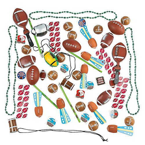Fun Express Novelty Football Assortment (50 Piece)