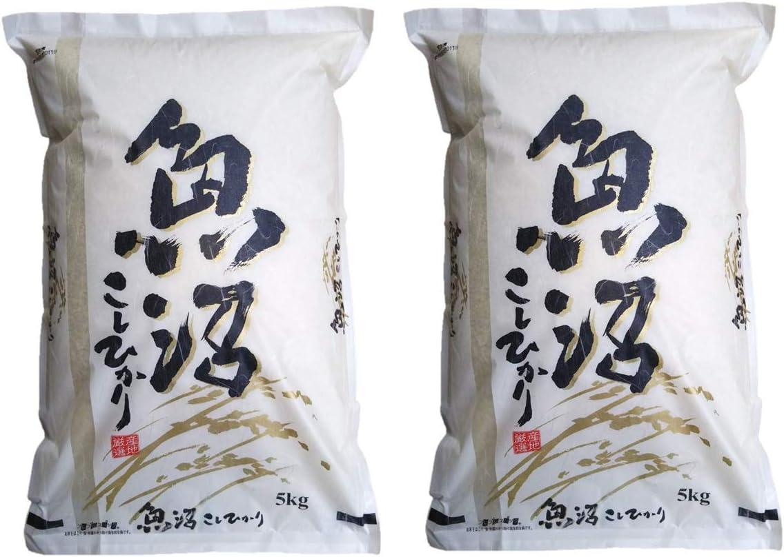 【精米】新潟県 魚沼産 コシヒカリ 令和元年産 新米 白米 米 コメ (30㎏/5㎏×6袋)