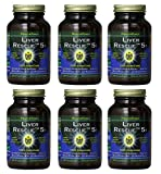 Healthforce Liver Rescue 5.1+, 120 Count (Pack of 6) (Packaging May Vary)