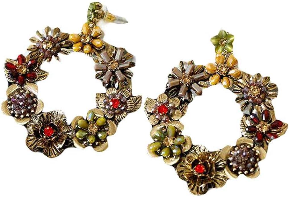 1 paire livraison gratuite Mode Antique Bronze Bijoux Life Tree Earring