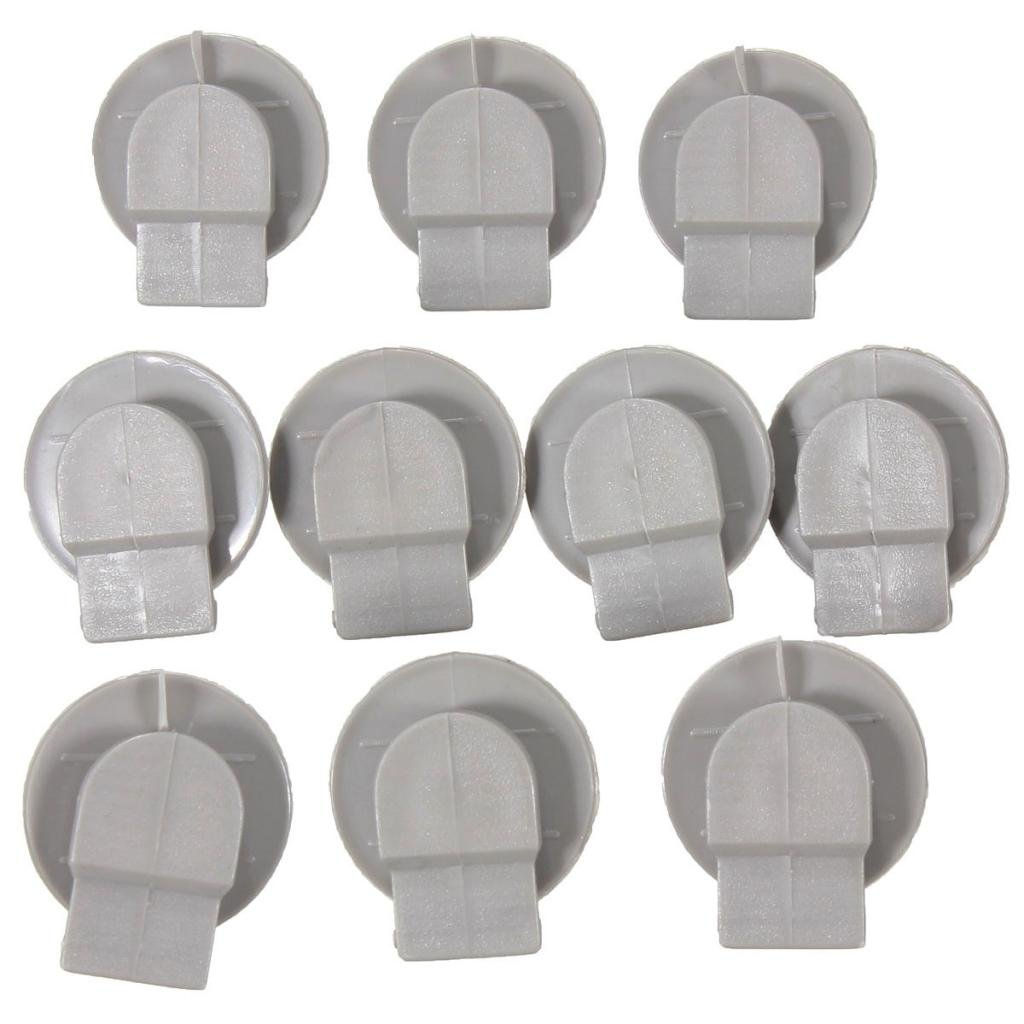 Baoblaze 10 Pieces Replacement Wheel Arch Skirt Rivets Clips For Mini Cooper R50 R52 R53