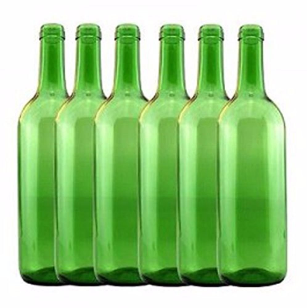 Home Brew Ohio 6 gal Bottle Set: Emerald Green Claret/Bordeaux (36 Bottles)